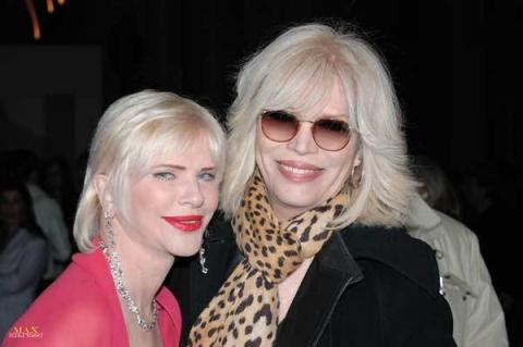 Ilona Staller e Amanda Lear