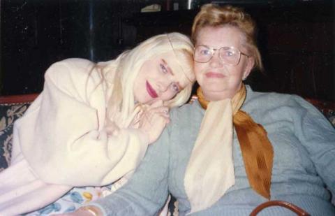 Io e mamma Ilona